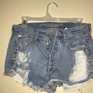 Ripped shorts 👖